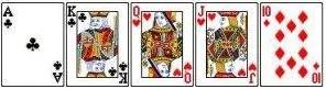Straight - Mãos de poker