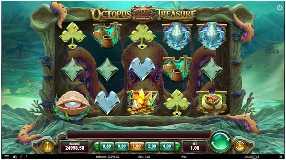 Octopus Treasure Slot2